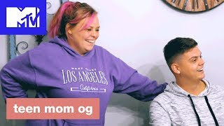 'Big Sister Surprise' Deleted Scene | Teen Mom OG (Season 7) | MTV