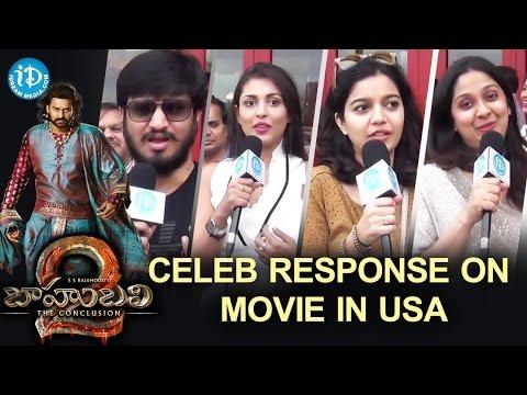 Celebrities Response After Watching Baahubali 2 Movie In USA | Prabhas | Anushka | Rana