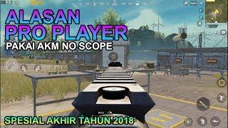 ALASAN PRO PLAYER PAKAI AKM NO SCOPE - PUBG MOBILE INDONESIA