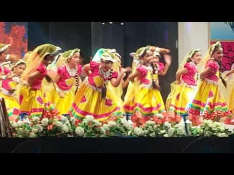 RAJASTHANI FOLK DANCE -( heza ayoob )M.E.S INDIAN SCHOOL DOHA-QATAR