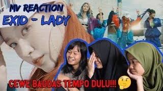 EXID - LADY | CEWE BADDAS TEMPO DULU!!! [MV REACTION INA]