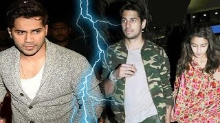 Sidharth Malhotra & Varun Dhawan FIGHT Coz Of Alia Bhatt