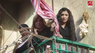 ناصر يضرب مرسي بعد نشر صور خاصة لشهد ويلبسه قميص نوم امام أهل الحارة فى الأسطورة