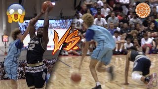 Lamelo Ball vs Zion Williamson! HYPEST GAME OF ALL TIME DOES NOT DISAPPOINT!
