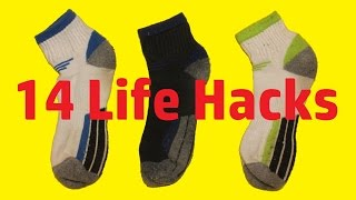 14 Life Hacks with Socks