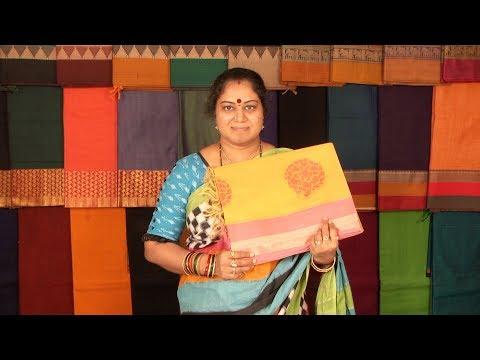 Xxx Mp4 Samprada Cotton Sarees Go Green Tree Concept Mix Match Blouse Wholesale Retail Thread Weaving 3gp Sex