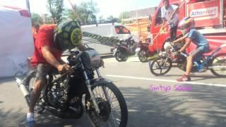 TEKNIK Simpel Eko Kodok Setting Ninja 6detik Kesayanganya Drag Bike Tune Up