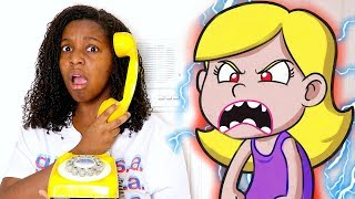 IGNORING My Sister For 24 Hours! *She's Acting Crazy*