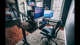 Home Office Tour 2018 💻 - Productivity Hacks