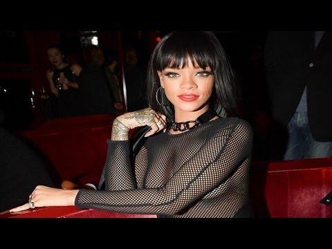 UNCENSORED: Rihanna Bares Breast At The Crazy Horse Club