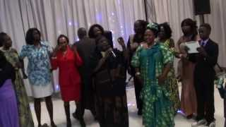 Deng Lual Majak & his wife Achol Anei last day welcoming by in- law Arek Anei in Calgary49