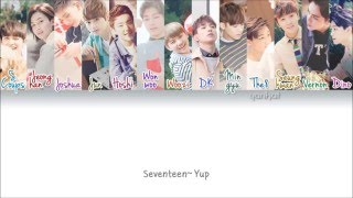 SEVENTEEN (세븐틴) - Pretty U (예쁘다) (Color Coded Han|Rom|Eng Lyrics) | by Yankat