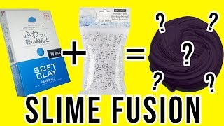 SLIME FUSION!!! 💦 MIXING SLIME RECIPES TO CREATE A NEW SLIME! 🤮😂