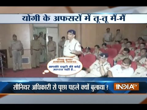 Xxx Mp4 Caught On Camera SP Misbehaves With SSP During A Meeting In Uttar Pradesh 3gp Sex