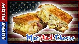 Mac And Cheese Sandwich - El mejor bocadillo del mundo