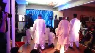 Bodyguard dance at Marya's Mehndi night Selsdon Park Hotel