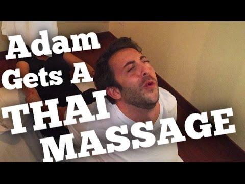 Adam Gets A Thai Massage | That's A First