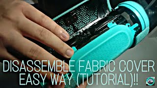 JBL CHARGE 3 - How To Disassemble Fabric, EASY WAY (TUTORIAL)!