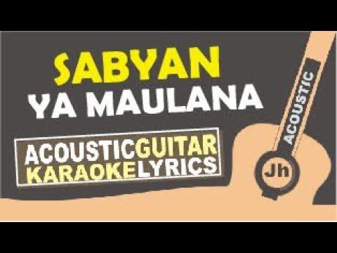 Nisa Sabyan Ya Maulana Karaoke Acoustic Cover