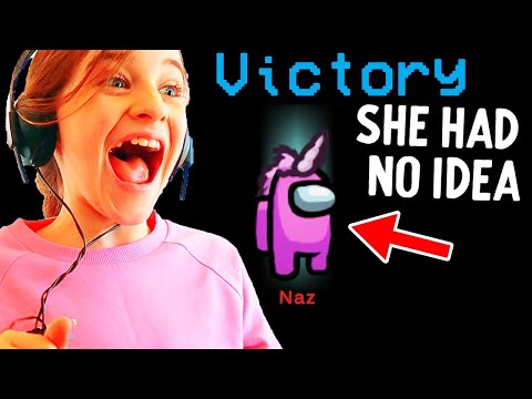 WE HELPED NAZ WIN AS IMPOSTOR and she never knew