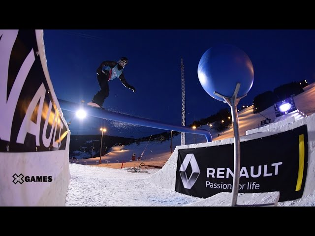 Sven Thorgren wins Men's Snowboard Slopestyle gold | X Games Norway 2017