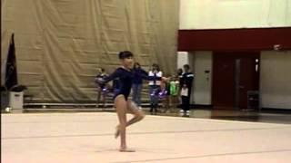 Grayson Baden 2004-2005 Level 5 Floor Routine