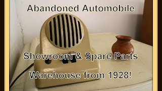 Abandoned Automobile Showroom & Spare Parts Warehouse from 1928