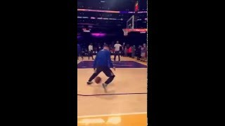 Stephen Curry Pre-Game Dribbling Exhibition