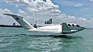Amazing Flying Boat - Future of Sea Travel