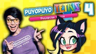 ►PUYO PUYO TETRIS►GETTING TOUGH!►With Pamela Horton!► PART 4 - Kitty Kat Gaming