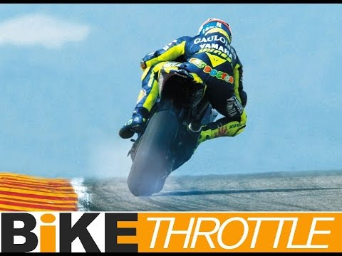 Greatest MotoGP Slides In History Valentino Rossi CRAZY Drifts and PowerSlides DriveTribe