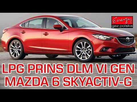 Montaż LPG Mazda 6 z 2.0 165KM SKYACTIV-G 2014r w Energy Gaz Polska na gaz PRINS DLM