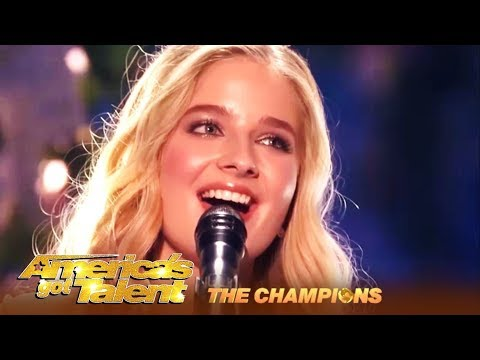 Jackie Evancho 18 Year Old STUNNING Opera Singer Is BACK AGT Champions