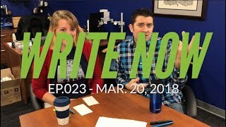Write Now - Ep.023: Using Fountain Pens as a Leftie with Lydia
