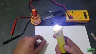 Como Fazer Mini Arma de Choque 800 Mil Volts