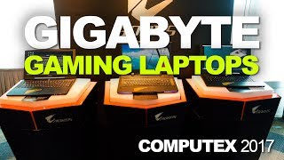 New Aorus and GIGABYTE Gaming Laptops With Max-Q GTX 1080