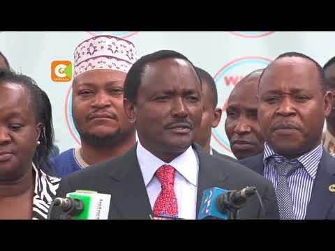 NASA co-principals have asked Odinga to save Wetangula