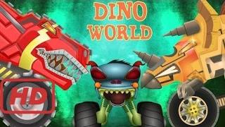 Songs for kids    Haunted House Monster Truck - haunted house monster truck in the dinosaur land -