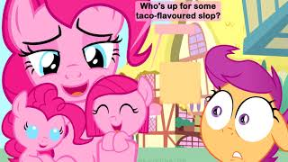 """MLP Baby Comic Dub """"How Babies are Made - Pinkie Pie Version"""""""