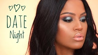 Affordable Emerald Date Night Makeup Tutorial | Valentine