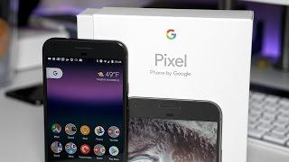 Google Pixel XL - Unboxing, Transfer, and Setup