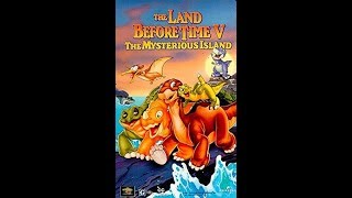 Opening To The Land Before Time: The Mysterious Island 1997 VHS [HQ]