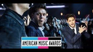 Niall Horan best moments AMAS 2017 / Niall Horan en los AMAS (Behind the scenes)