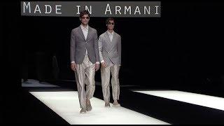 Giorgio Armani Spring Summer 2018 Men