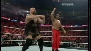 Bigshow and Great Khali Dancing