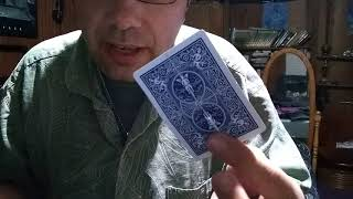 How to do my torn and restored card