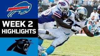 Bills vs. Panthers | NFL Week 2 Game Highlights