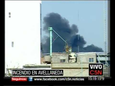 C5N INCENDIO EN AVELLANEDA