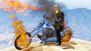 INSANE GHOST RIDER MOD! (GTA 5 Mods Funny Moments)
