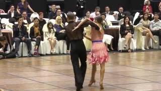 SODC2016 - Latin Samba show by Troels Bager & Ina Jeliazkova from USA